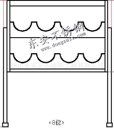 定制不锈钢安全帽柜架工地电厂安全帽收纳放置摆放架柜鞍山东安