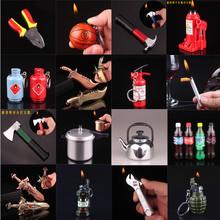 跨境爆款网红创意酒瓶易拉罐斧头管钳千斤顶螺丝刀充气打火机批发