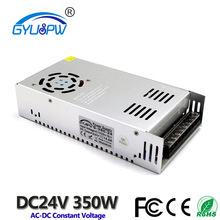 外贸货源S-350-24开关电源 LED安防工业电源 24v350W灯具监控电源