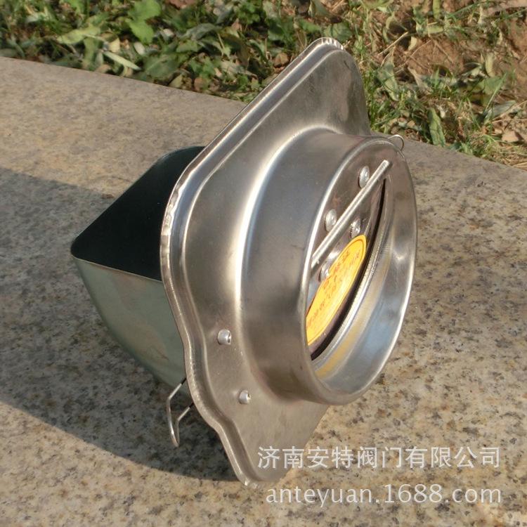 导流式防火止回阀卫生间排气道防串味臭味换气扇止逆阀烟道止逆阀