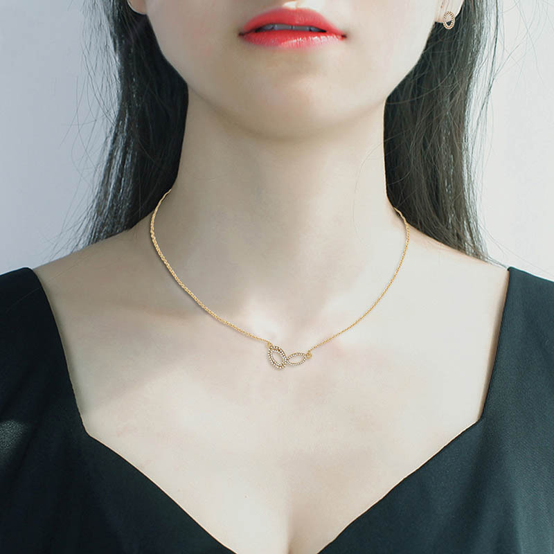 Alloy Korea  necklace  (61172490 alloy) NHXS1732-61172490-alloy