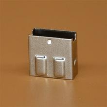 厂家直销 USB3.0连接器 3.0直插夹板9P USB母座护套银色13.40mm