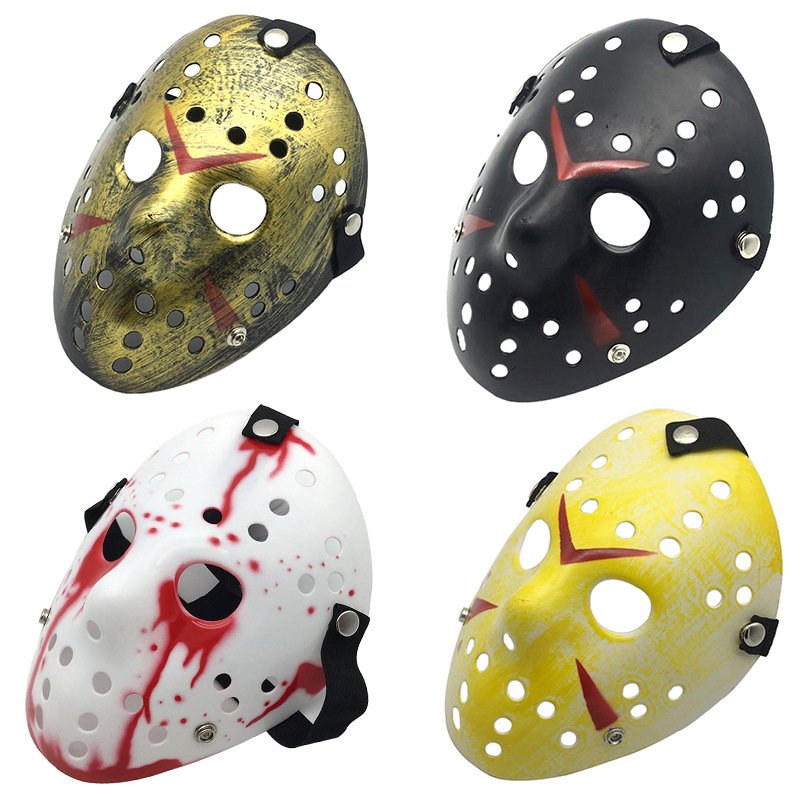 Friday the 13th Halloween Myers Jason vs Freddy Costume Prop horreur Hockey Masque