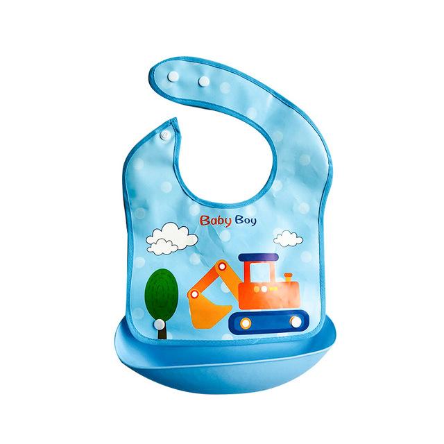 Em bé ăn yếm không thấm nước dùng một lần bát cơm cho em bé Yếm yếm