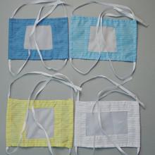 防静电 面料 无尘室用 条纹布料防尘防静电双层口罩