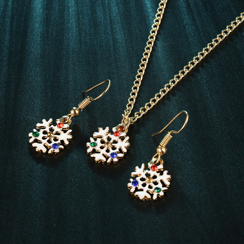 Alloy Fashion Geometric necklace(Gold) NHGY2568-Gold