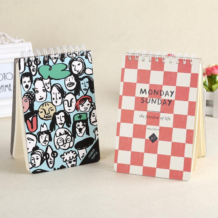 新款线圈本随身迷你便携创意个性文字日记本记事本口袋笔记本子