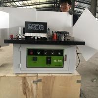 Циндао Деревообрабатывающее оборудование TS-505 вручную Криволинейная ленточная машина копия Кромкооблицовочный станок