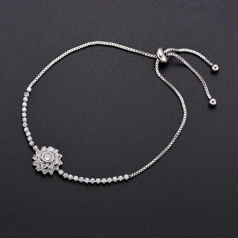 Alloy Simple Geometric bracelet  66186022 NHLP113066186022