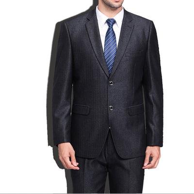 西装男套装夏季薄款修身韩版潮流英伦风男士正装休闲小西服