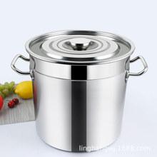 nhà máy súp Pot không từ tính không gỉ thương mại đa xô mét xô xô dày Laid trực tiếp Hầm
