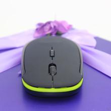 廠家現貨350超薄無線鼠標2.4G時尚創意禮品爆款定制LOGO迷你鼠標