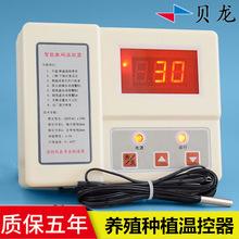 贝龙HS-614育苗种植温控仪表5kw大功率温控表养殖场温度控制器