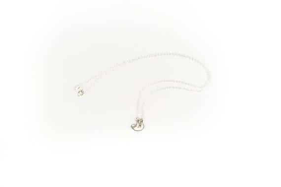 small sloth panda koala bear pendant necklace NHMO295998
