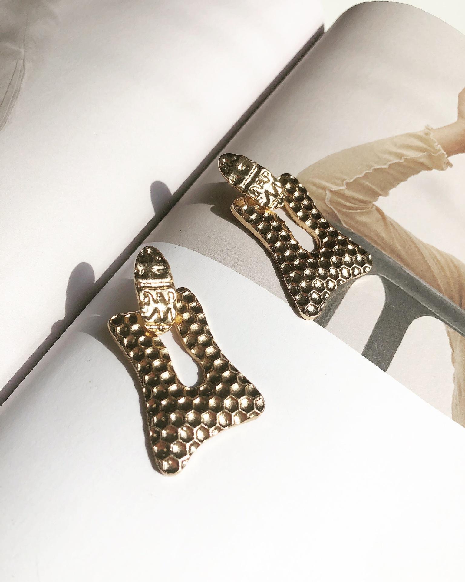 Alloy Fashion Geometric earring  (Alloy) NHYT1164-Alloy