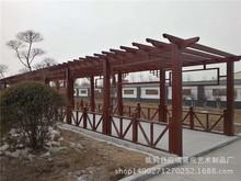 专业供应园林 架 长廊架 户外防腐木葡萄架家装建材景观工程花架