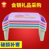 Прямые продажи детские Маленький письменный стол утепленный Пластиковая кровать для взрослых верх Настольный компьютер для ноутбука ленивый письменный стол