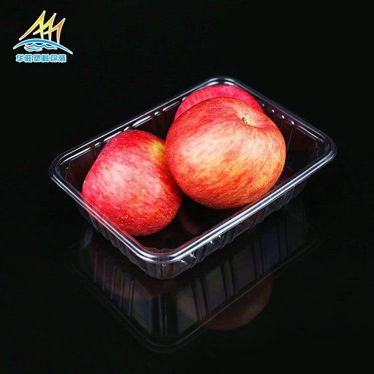 特价批发pet一次性蔬菜水果塑料?#20449;?无盖生鲜透明塑料盒1斤2斤装