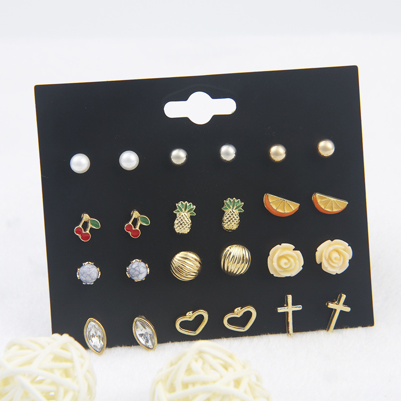Alloy Fashion Geometric earring  (color) NHSD0277-color