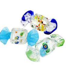 灯工工艺 糖果风格 糖果造型 彩色玻璃材质 玻璃工艺品 玻璃糖果