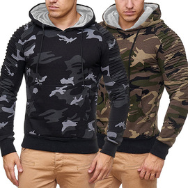 Men's autumn new camouflage suit men's slimming and hooded camouflage coat