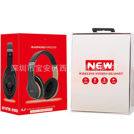 Popular headset Bluetooth card headset foldable headset wireless call headset heavy bass headset 6S