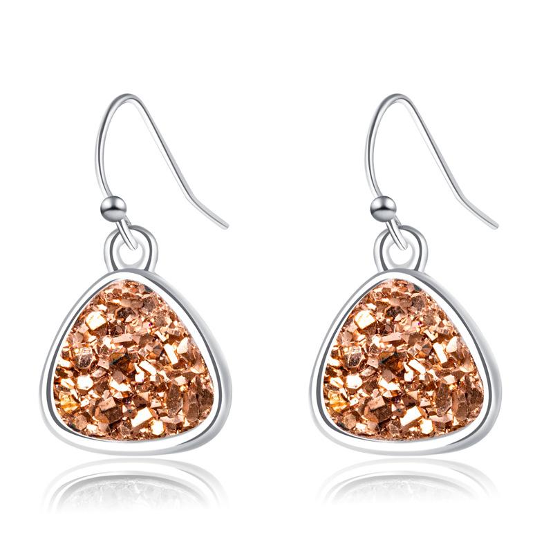 fashion heart crystal earrings  NHAN299908