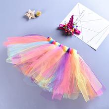 歐美外貿原單童裝女童手編裙套裝TUTU裙純手工手編裙廠家直銷