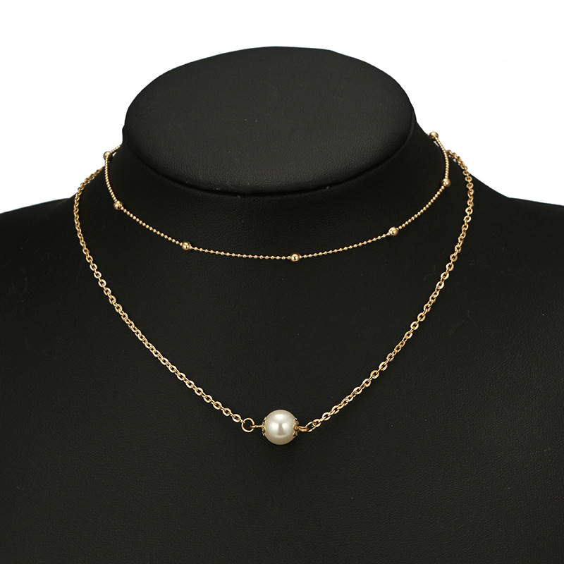 Alloy Simple Geometric necklace  Alloy NHGY2269Alloy
