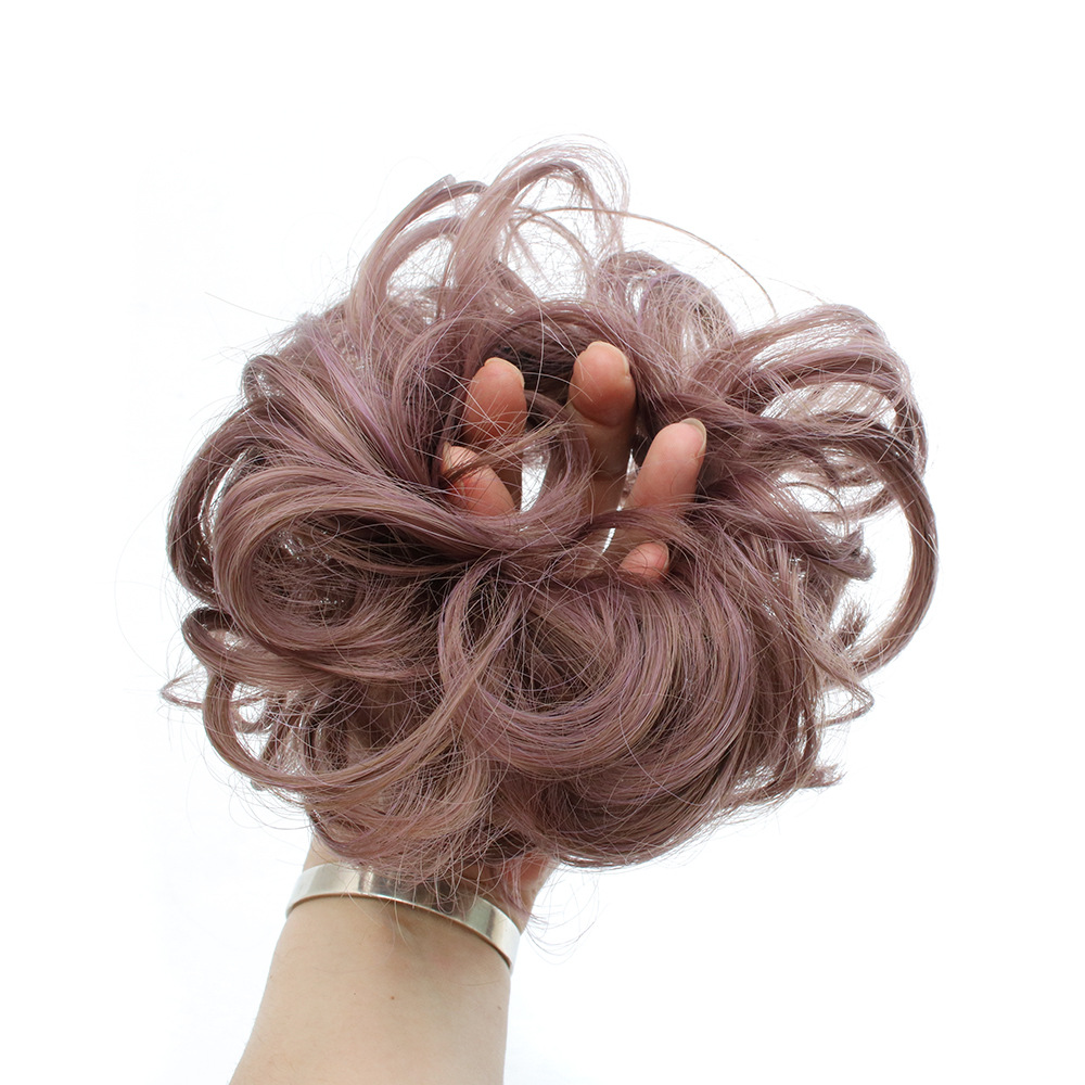 Perruque cheveux bouclés moelleux - Ref 3425438 Image 2
