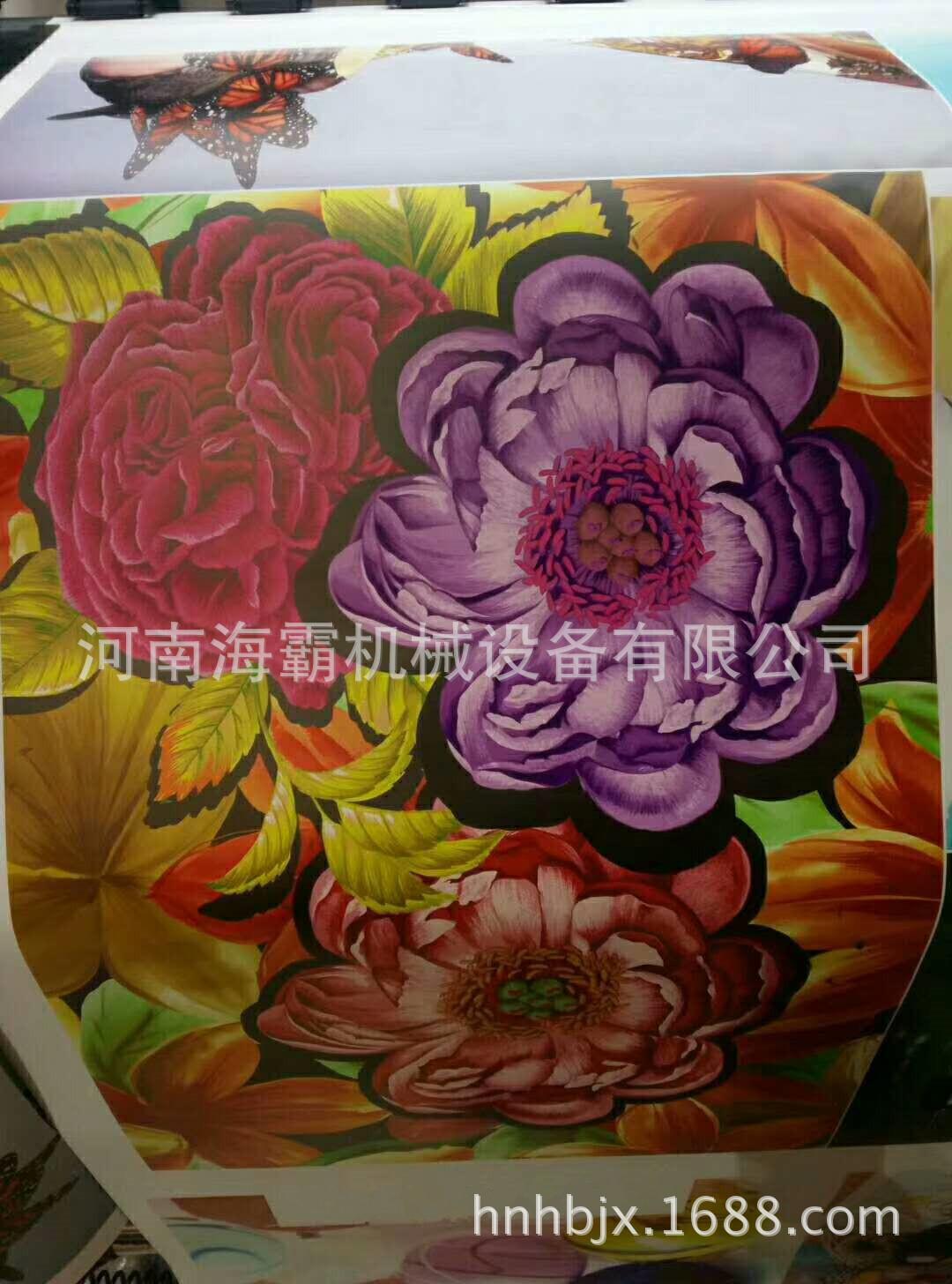 数码打印机_进口uv写真机数码热升华印花机3d数码卷材