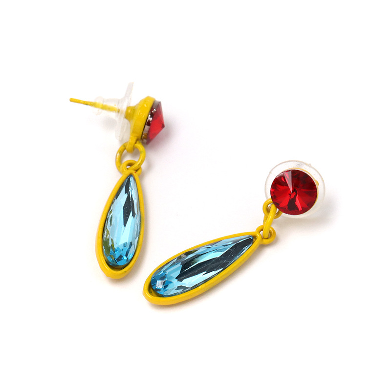 Alloy Fashion Geometric earring  (red)  Fashion Jewelry NHJJ5542-red