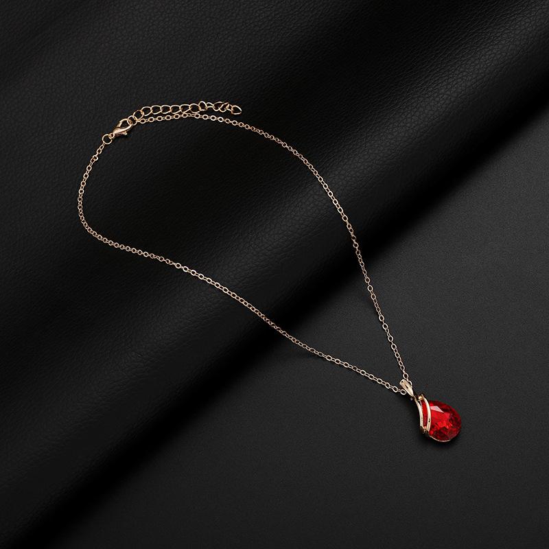 Alloy Fashion  necklace  (61172543B) NHXS1704-61172543B