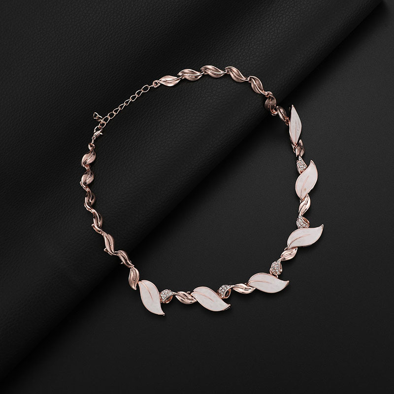 Alloy Fashion  necklace  (61173217 alloy) NHXS1679-61173217-alloy