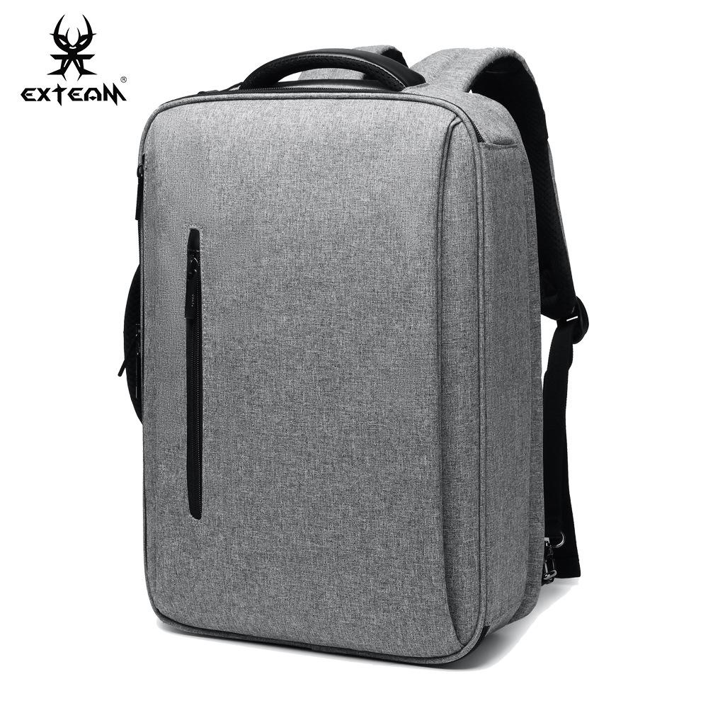 厂家批发多功能三用背包男休闲电脑包大容量旅行包男式双肩包