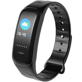 Wo smart bracelet C1plus color screen Bluetooth sports pedometer hand test heart rate sleep health message reminder