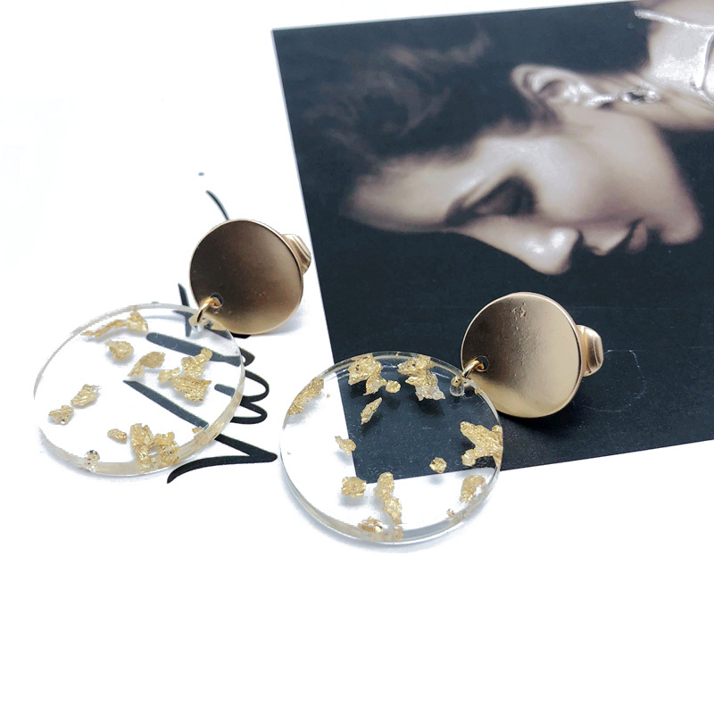 Alloy Fashion  earring  (Photo Color) NHOM1257-Photo-Color