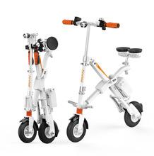 工厂直销AirwheelR6电动助力车电动伸缩折叠自行车迷你成人代步车