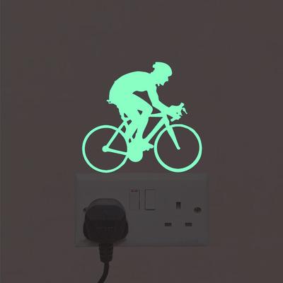 NY20运动系列夜光开关贴马桶贴荧光墙贴洗手间卫生间装饰墙贴纸