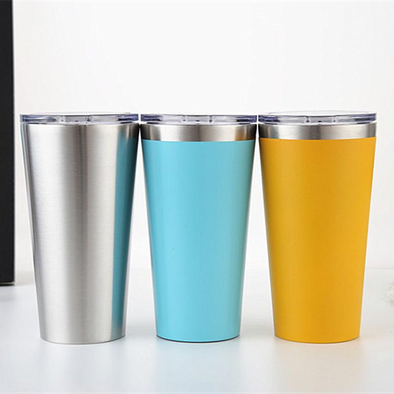 yeti杯 新款304不锈钢真空保温16oz汽车杯 定制户外咖啡杯 现货
