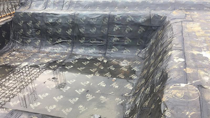 广东吴川PB桥梁防水涂料工厂电话施工应用案例展示