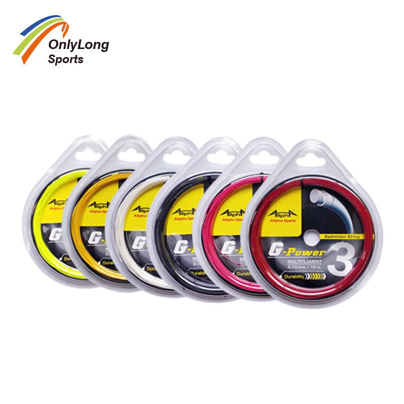 艾法ALLPHA GP3 耐用业余羽拍用线 出口标准羽毛球线 羽线 羽拍线
