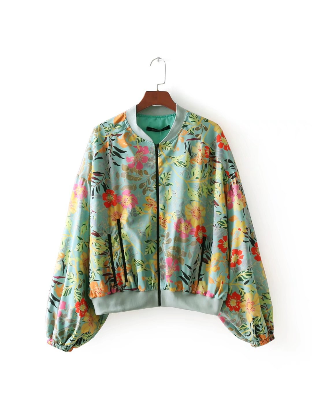 Polyester Fashioncoat(Picture color -S) NHAM2453-Picture color -S