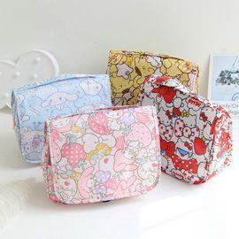 Cute cartoon Stella rabbit makeup bag wash bag Meredith travel portable white dog accept makeup bag