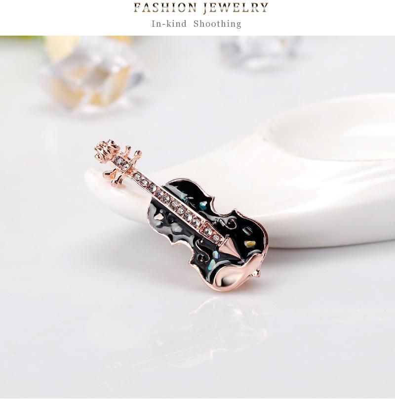 Alloy Korea Flowers brooch  (AL259-A) NHDR2637-AL259-A