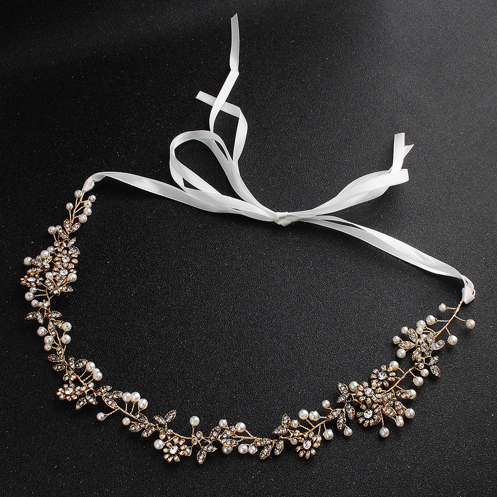 Alloy Fashion Flowers Hair accessories  (Ancient alloy) NHHS0050-Ancient alloy