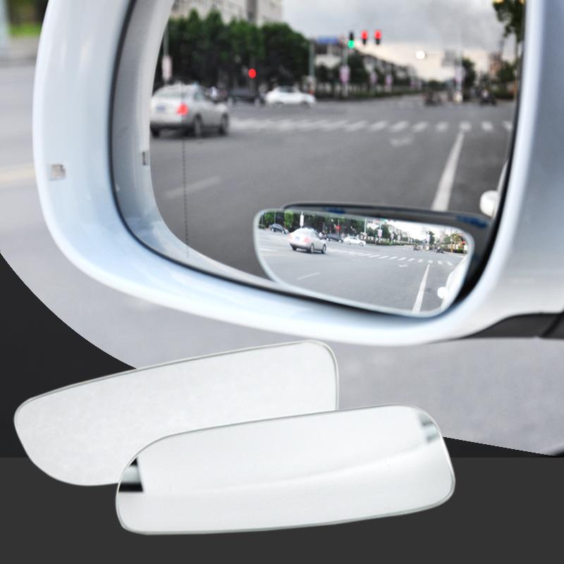 无边汽车用后视镜车载小圆镜倒车盲点可调广角辅助镜反光盲区