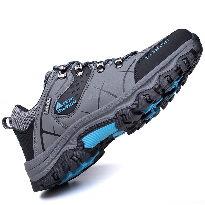 跨境货源2020新款防滑防水耐磨户外登山鞋男  大码徒步旅游鞋男鞋