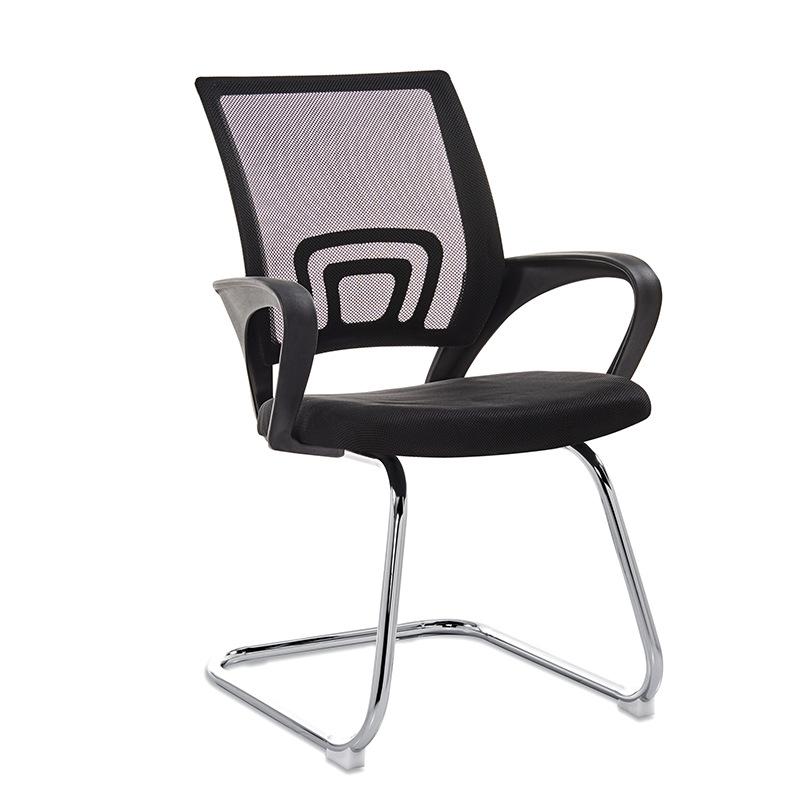 弓形椅特价办公椅皮革网布椅子电脑椅家用职员会议培训麻将员工椅