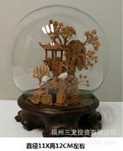 福建特色手工福州球形立體園林軟木畫雕喬遷出國聚會結婚伴手禮品